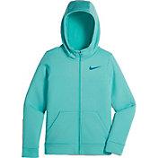 Nike Girls' Therma Full Zip Hoodie