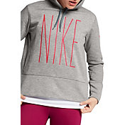 Nike Women's Therma Skinny Graphic Hoodie