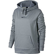 Nike Women's Therma Tapered Side Nike Graphic Hoodie
