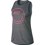 Nike Women's Dry Nike Smile Tomboy Graphic Tank Top