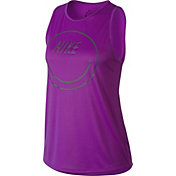 Nike Women's Dry Nike Smile Tomboy Graphic Tank Top