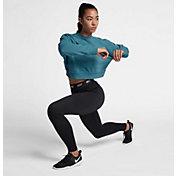 Nike Women's Crop Training Long Sleeve Shirt