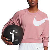 Nike Women's Dry Versa Long Sleeve Cropped Shirt
