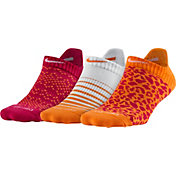 Nike Women's Dri-FIT Graphic No-Show Golf Socks – 3 Pack