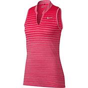 Nike Women's Zonal Cooling Sleeveless Golf Polo