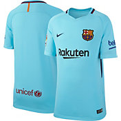 Nike Youth Barcelona 17/18 Breathe Replica Away Stadium Jersey