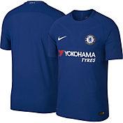 Nike Youth Chelsea FC 17/18 Breathe Replica Home Stadium Jersey