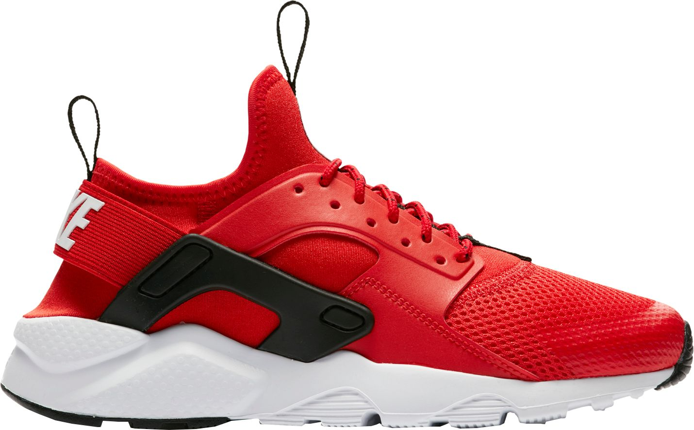 nike huarache red grade school