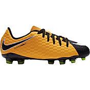 Nike Kids' Hypervenom Phelon III FG Soccer Cleats