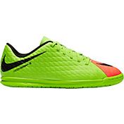 Nike Kids' Hypervenom Phade III Indoor Soccer Shoes