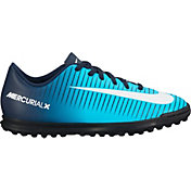 Nike Kids' MercurialX Vortex III Turf Soccer Cleats