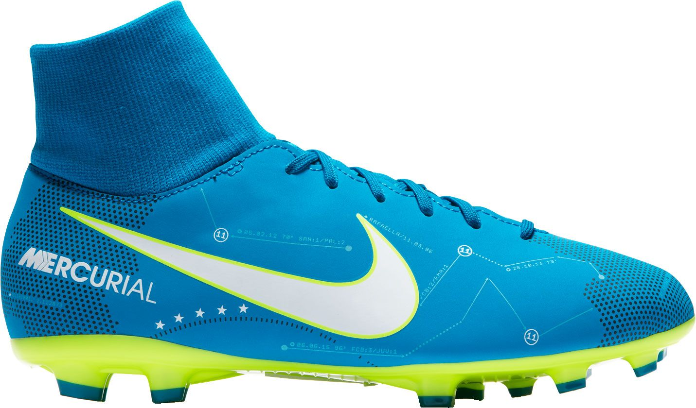 Product Image · Nike Kids' Mercurial Victory VI Dynamic Fit NJR FG Soccer  Cleats