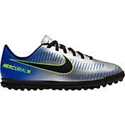 Nike Kids' MercurialX Vortex III NJR Turf Soccer Cleats