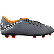 Nike Kids' Hypervenom Phantom 3 Club FG Soccer Cleats