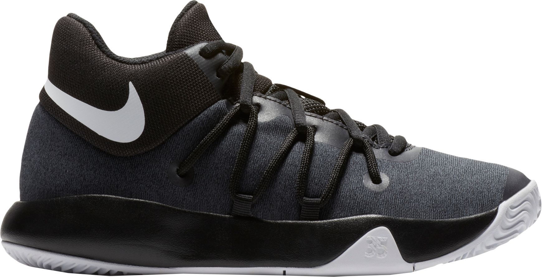 Product Image · Nike Kids' Grade School KD Trey 5 V Basketball Shoes · Black /White ...