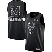 Jordan Youth 2018 NBA All-Star Game Giannis Antetokounmpo Black Dri-FIT Swingman Jersey