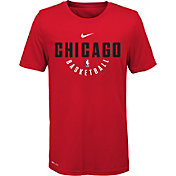 Nike Youth Chicago Bulls Dri-FIT Red Practice T-Shirt