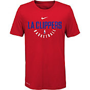 Nike Youth Los Angeles Clippers Dri-FIT Red Practice T-Shirt