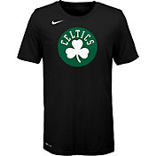 Nike Youth Boston Celtics Dri-FIT Black Logo T-Shirt