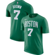 Nike Youth Boston Celtics Jaylen Brown #7 Dri-FIT Kelly Green T-Shirt