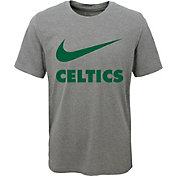 Nike Youth Boston Celtics Dri-FIT Legend Grey T-Shirt