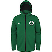 Nike Youth Boston Celtics On-Court Kelly Green Dri-FIT Showtime Full-Zip Hoodie