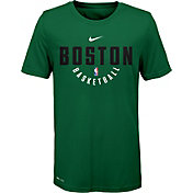 Nike Youth Boston Celtics Dri-FIT Kelly Green Practice T-Shirt