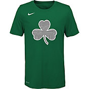 Nike Youth Boston Celtics Dri-FIT City Edition Logo T-Shirt