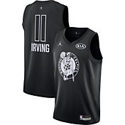 Jordan Youth 2018 NBA All-Star Game Kyrie Irving Black Dri-FIT Swingman Jersey