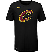 Nike Youth Cleveland Cavaliers Dri-FIT Black Logo T-Shirt