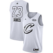 Jordan Youth 2018 NBA All-Star Game LeBron James White Dri-FIT Swingman Jersey