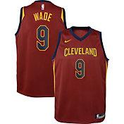 Nike Youth Cleveland Cavaliers Dwyane Wade #9 Burgundy Dri-FIT Swingman Jersey