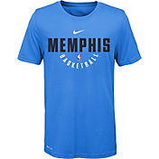 Nike Youth Memphis Grizzlies Dri-FIT Light Blue Practice T-Shirt