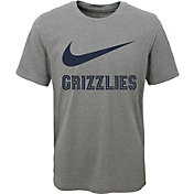 Nike Youth Memphis Grizzlies Dri-FIT Legend Grey T-Shirt