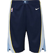 Nike Youth Memphis Grizzlies Dri-FIT Navy Swingman Shorts