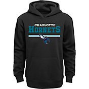 Outerstuff Youth Charlotte Hornets Black Pullover Hoodie