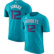 Jordan Youth Charlotte Hornets Dwight Howard #8 Dri-FIT Teal T-Shirt