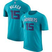 Jordan Youth Charlotte Hornets Kemba Walker #15 Dri-FIT Teal T-Shirt