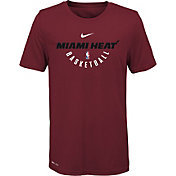 Nike Youth Miami Heat Dri-FIT Red Practice T-Shirt