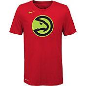 Nike Youth Atlanta Hawks Dri-FIT Red Logo T-Shirt