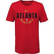 Nike Youth Atlanta Hawks Dri-FIT Red Practice T-Shirt