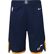 Nike Youth Utah Jazz Dri-FIT Navy Swingman Shorts