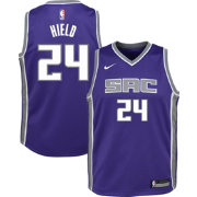 Nike Youth Sacramento Kings Buddy Hield #24 Purple Dri-FIT Swingman Jersey