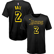 Nike Youth Los Angeles Lakers Lonzo Ball Dri-FIT City Edition T-Shirt