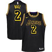 Nike Youth Los Angeles Lakers Lonzo Ball Dri-FIT City Edition Swingman Jersey