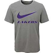 Nike Youth Los Angeles Lakers Dri-FIT Legend Grey T-Shirt