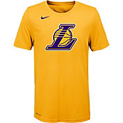 Nike Youth Los Angeles Lakers Dri-FIT Gold Logo T-Shirt
