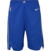 Nike Youth Dallas Mavericks Dri-FIT Royal Swingman Shorts