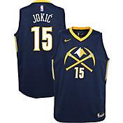 Nike Youth Denver Nuggets Nikola Jokic Dri-FIT City Edition Swingman Jersey