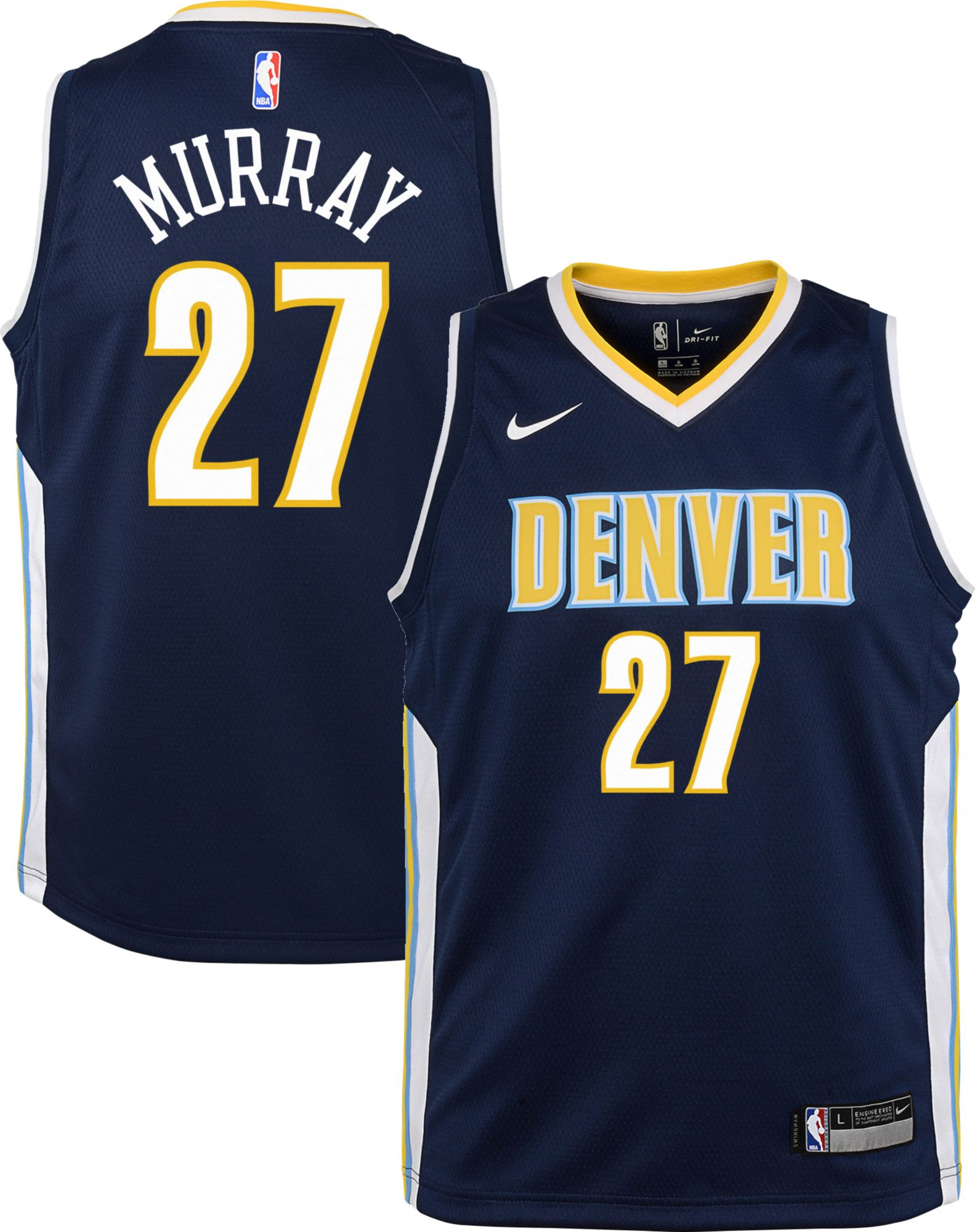 newest 890d4 51512 27 jamal murray jersey knit